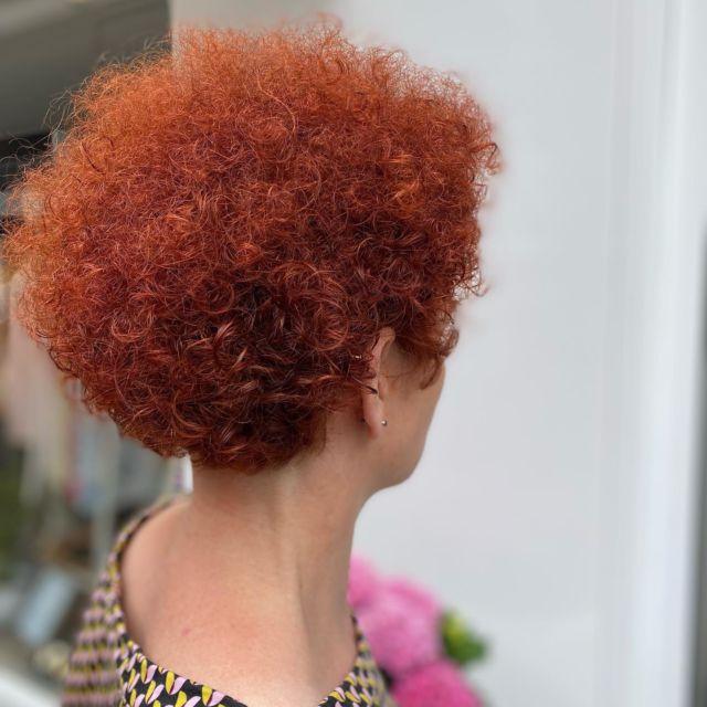 Curly red hair♥️♥️♥️we Love it by @nicole_fahlke_ho #friseurfahlke #salonfahlke #labiosthetique #labiosthetiqueparis #redhair #curlyhair #hairgoals #brownhair #bob #instahair #friseurgütersloh #friseurbielefeld