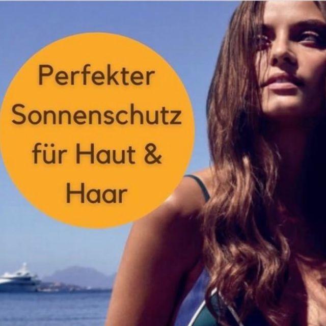 Perfekter Schutz für deine Haut und Haare 🌞⛱#friseurfahlke #friseurgütersloh #labiosthetique #suncare #sunnyday #sun#fahlkegütersloh